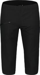 Fekete női ultra könnyű outdoor rövidnadrág EASEFUL - NBSPL7417