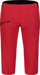 Piros női ultra könnyű outdoor rövidnadrág EASEFUL - NBSPL7417