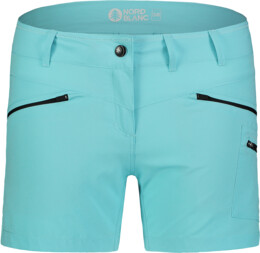 Kék női könnyű outdoor rövidnadrág SIMPLICITY - NBSPL7418