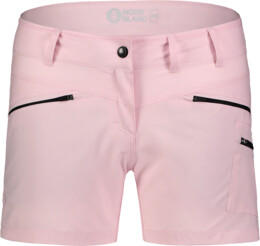 Ružové dámske ľahké outdoorové šortky SIMPLICITY - NBSPL7418