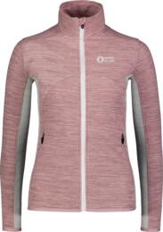 Růžová dámská lehká fleecová mikina MIST - NBSFL7380
