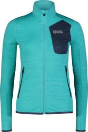 Women's blue power fleece jacket ACME - NBSFL7381