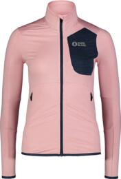 Women's pink power fleece jacket ACME - NBSFL7381