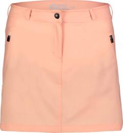 Oranžová dámska outdoorová šortko-sukňa ENIGMATIC - NBSSL7420