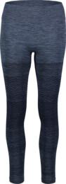 Women's blue functional seamless leggins PREVAIL
