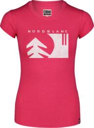 Rózsaszín női elasztikus póló WINDRE
