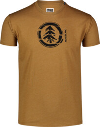 Tricou maro din bumbac pentru bărbați UNVIS