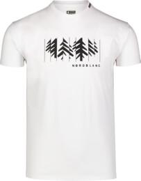 Men's white cotton t-shirt DECONSTRUCTED