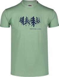 Zöld férfi pamut póló DECONSTRUCTED