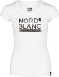 Tricou alb pentru femei YNUD