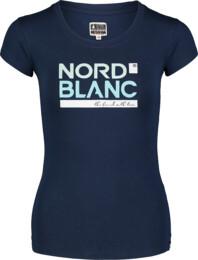 Tricou albastru pentru femei YNUD