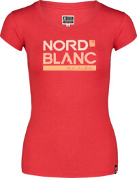 Damen Elastisches T-Shirt rot YNUD