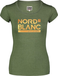 Tricou verde pentru femei YNUD