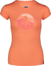 Narancssárga női elasztikus póló SUNTRE