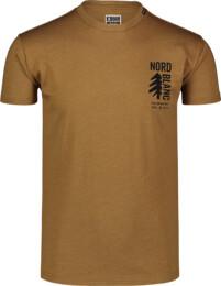 Tricou maro din bumbac pentru bărbați SARMY