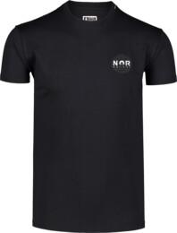 Tricou negru pentru bărbați NOR