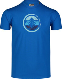 Tricou albastru pentru bărbați TRICOLOR