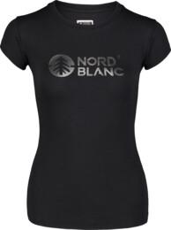 Černé dámské bavlněné tričko CENTRAL