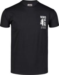 Men's black cotton t-shirt SARMY