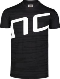 Černé pánské bavlněné tričko IANTOS