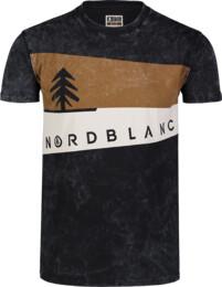 Černé pánské bavlněné tričko GRAPHIC