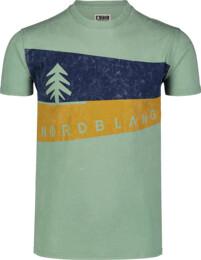 Zelené pánské bavlněné tričko GRAPHIC