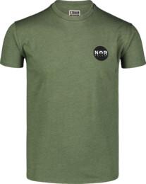 Men's green cotton t-shirt NOR