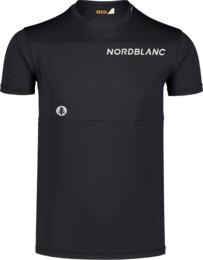 Fekete férfi fitness póló GROW