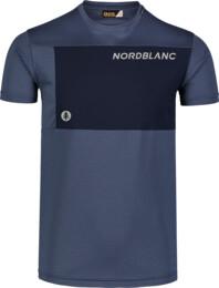 Kék férfi fitness póló GROW
