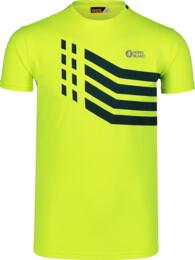 Tricou galben de fitness pentru bărbați STRONGER