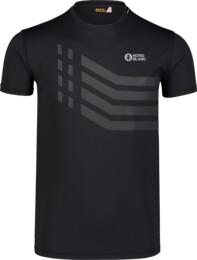 Tricou negru de fitness pentru bărbați STRONGER