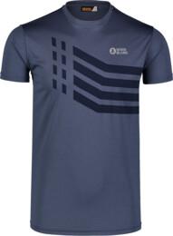 Tricou albastru de fitness pentru bărbați STRONGER