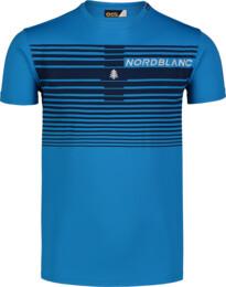Tricou albastru de fitness pentru bărbați GRADIANT