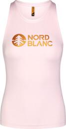 Ružové dámske fitness tielko BALM