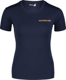 Kék női funkcionális fitness póló TRAINING