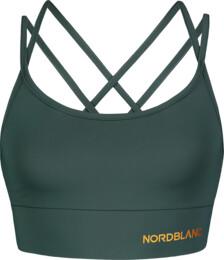 Zelená dámska fitness podprsenka BREATHE