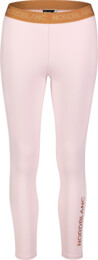Colanți roz de fitness pentru femei FLEXIBILITY