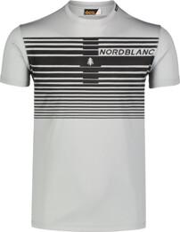 Tricou gri de fitness pentru bărbați GRADIANT