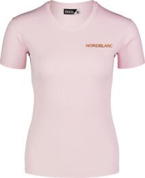 Rózsaszín női funkcionális fitness póló TRAINING