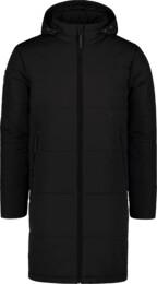 Fekete férfi steppelt kabát UNITY