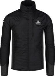 Čierna pánska športová bunda BACKCLOTH
