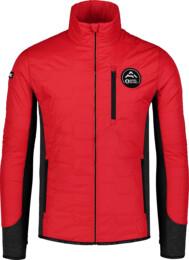 Červená pánska športová bunda BACKCLOTH